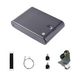 Pistola de huella dactilar óptica biométrica, cerradura para caja de seguridad OS100A