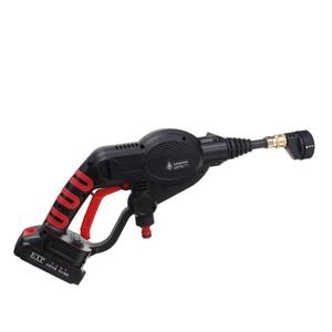 Image 5 - 320PSI yüksek basınçlı araba yıkama şarj edilebilir aksesuarları lityum pil kablosuz sprey su araba temizleme tabancası el temizleyici