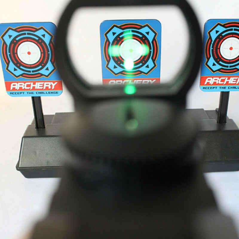 Portée de visée tactique holographique rouge point vert 4 réticule Reflex 11mm support de Rail