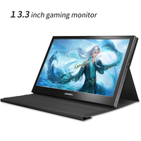 13.3 polegada monitor 2k 2560x1440 monitor de tela sensível ao toque 1080p display gaming monitor hdmi monitor pc para raspberry pi ps3 ps4