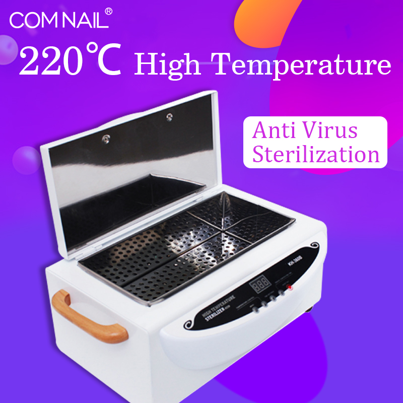 High Temperature Sterilizer Cabinet Sundry Professional Spa Beauty Hair Nail Equipment Sterilizing Disinfecting Tools