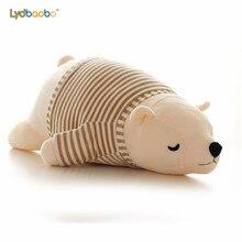 2019 ใหม่ Kawaii Dressing หมีขั้วโลก Plush ตุ๊กตาเด็ก Super Soft ตุ๊กตา Wearable Sleeping Bear หมอนตุ๊กตาสัตว์ของเล่นเด็กของขวัญ