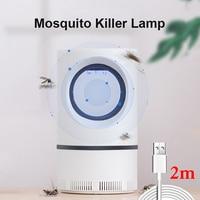 2020 Elektrische Muggen Killer Lamp 1 M/2 M Usb Powered Geen Lawaai Insect Killer Bug Zapper Muggenval licht Voor Thuis Slaapkamer