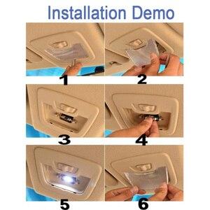 Image 5 - 17 pces livre de erros led lâmpada interior dome mapa luz kit + lâmpada da placa de licença para audi a4 s4 rs4 b8 quattro sedan (2009 2015)