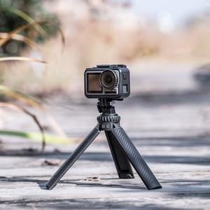 Image 5 - PGYTECH T2 Tripod Handle aluminum alloy For DJI OSMO Action Pocket GoPro Hero 9 8 7 Camera 1/4 port OSMO Mobile 4 2 3 SLR DSLR