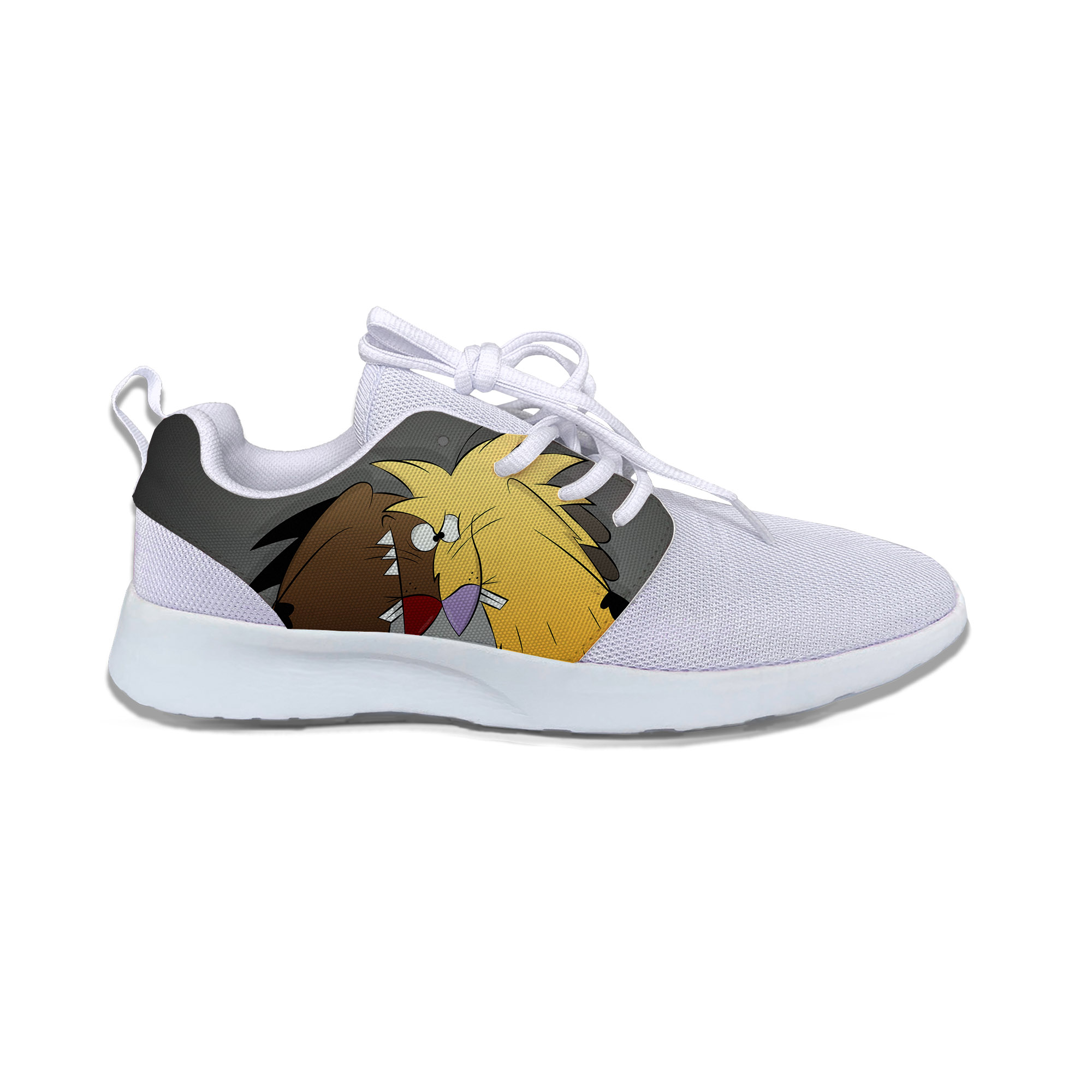 Hot The Angry Beavers Shoes Lightweight Man/Woman Classic Running Shoes Breathable Fashion Sports Shoes Comfortable Sneakers
