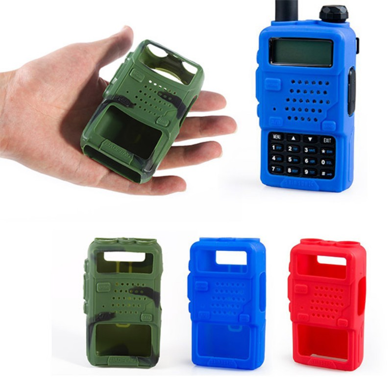 Greatlizard 1pc Soft Walkie-talkie Holster Protective Cover Anti-fall Case Walkie-talkie Accessories