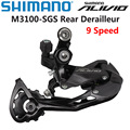 SHIMANO ALIVIO M3100 Rear Derailleur SHADOW RD 9 speed For MTB Bike Mountain Bike Original parts 9 Speed Rear Derailleur