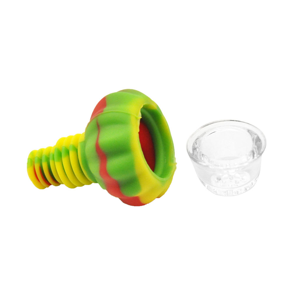 Hookah Shisha Pipe Accessories Silicone Head Holder Glass Bowl Water Smoking Bong Narguile Flavor Joint Tobacco Screens Skull 4
