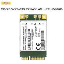 Mc7455 lte 4g cartão mini pci-e FDD-LTE TDD-LTE 4g módulo cat6 placa de rede para computador portátil