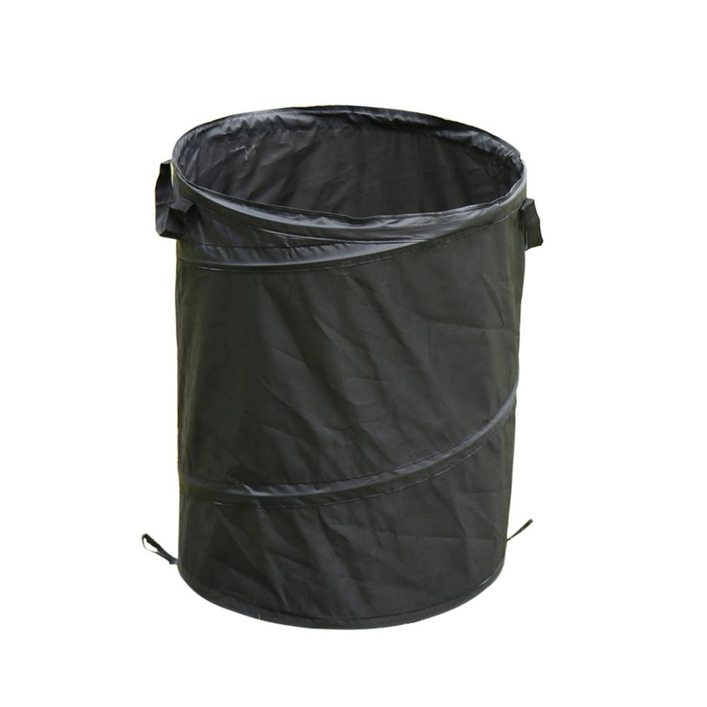 Oxford Cloth Portable Folding Outdoor Camping Garbage Dust Bin Car Trash Can Portable  Convenient To Use  Garbage Can  Folding