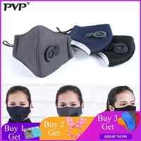 1Pcs PM2.5 Verschmutzung Maske Anti Air Staub und Rauch Verschmutzung Maske mit Ohrbügel und Luft Ventil, waschbar Atemschutz Maske Gemacht