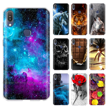 Silicone Case For Asus Zenfone Max Pro M1 ZB601KL Case Cover Funda Coque Capa Shell Back Cover For Asus ZB602KL Case Phone Cover qijun brand glitter bling flip stand case for asus zenfone max m1 zb555kl plus pro m1 zb601kl zb570tl wallet phone bag cover