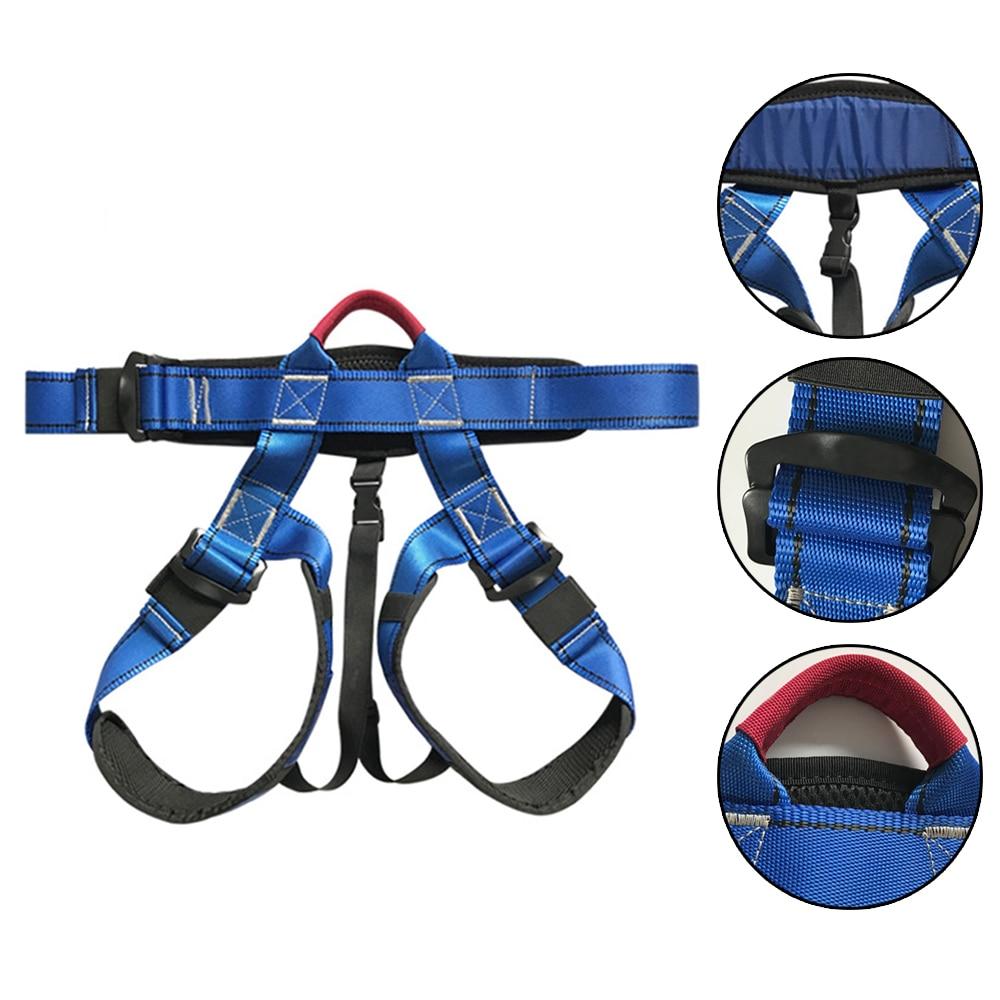 Best Deal│Seat-Belt-Rock Climbing-Harness And Workmanship Long-Service-Life Half-Body Kids Excellent