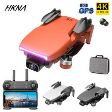 HKNA L108 Drone Gps With HD 4K Camera Professional 1000m Image Transmission Brushless Motor RC Foldable Quadcopter Kid Gift