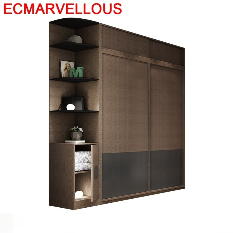 Dolap D Zenleyici Garderobe rangement Armario Lemari Pakaian bois Shabby Chic armoire en bois meubles chambre placard armoire