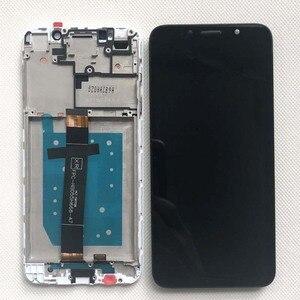 Image 3 - Pantalla LCD Original para Huawei Honor 7A Probado AAA, montaje de digitalizador con pantalla táctil con Marco, 100% dua l22, 5,45 pulgadas