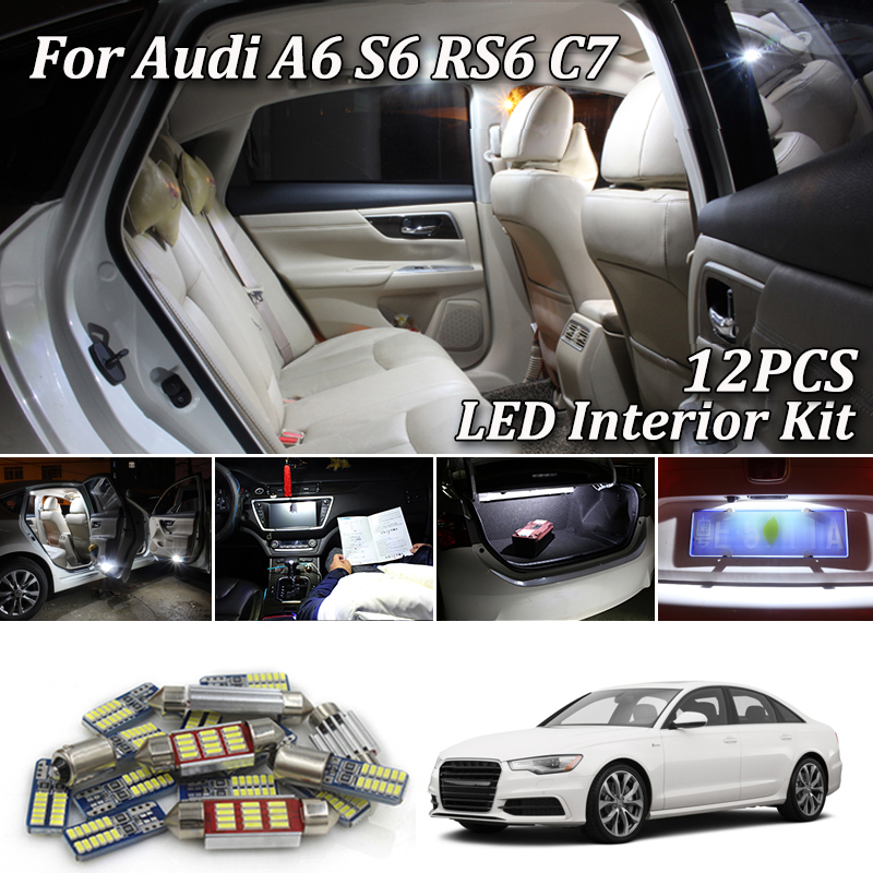 13x HID White Interior LED Lights Package Kit Fits Honda CRV 2007 ...