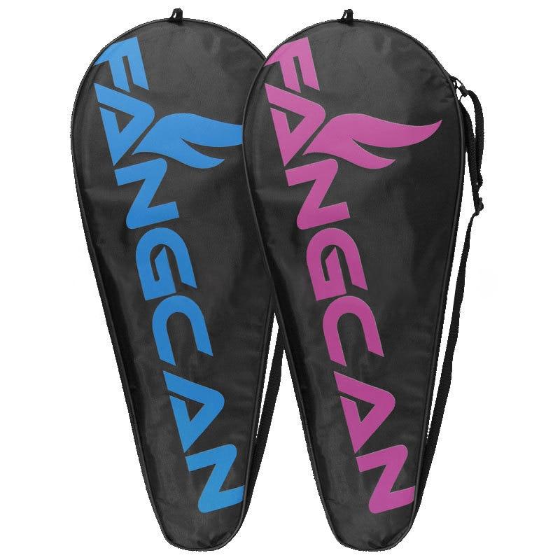 Tennis Badminton Squash Racket Bag FANGCAN Waterproof Oxford Cloth Racket Backpack Storage Portable Single Shoulder Sports Bag