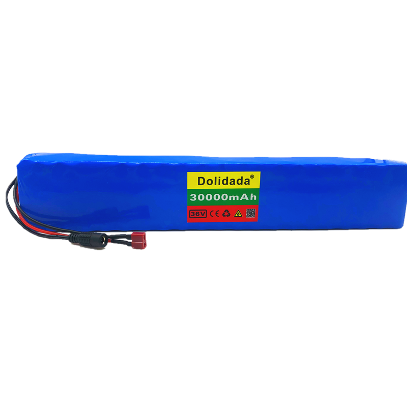 30ah 18650 bateria 800w 42v 30000mah para