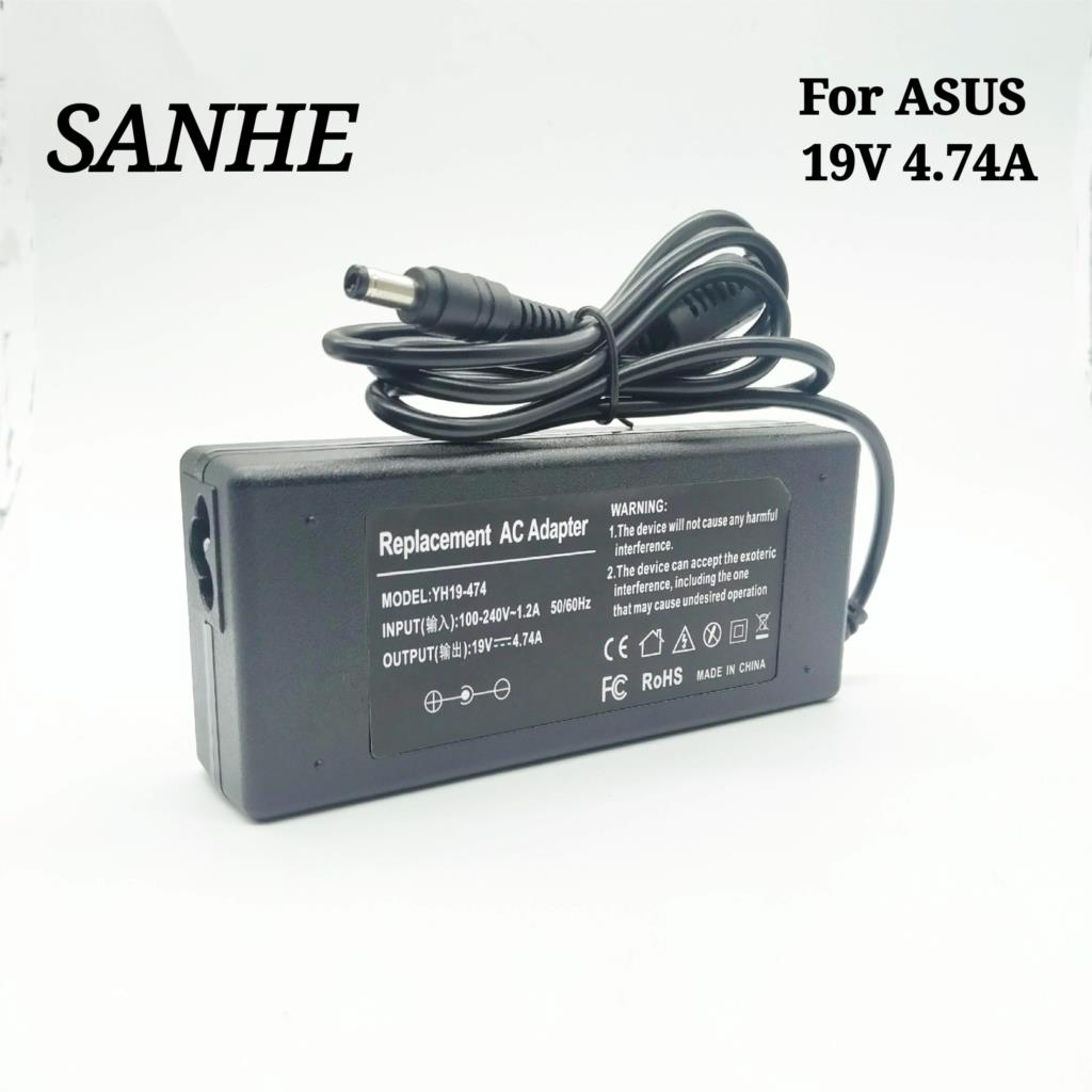 19v 4.74a 5.5 * 2.5mm ac portable travel charger power adapter for asus laptop ADP 90SB bb PA 1900 24 PA 1900 04 power supply ch|Laptop Adapter| -…