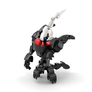 Darkrai Building Blocks Toys For Children Pokemones Action Figure Model Kids Toy Original Design Darkrai Assembling Bricks Toy 2