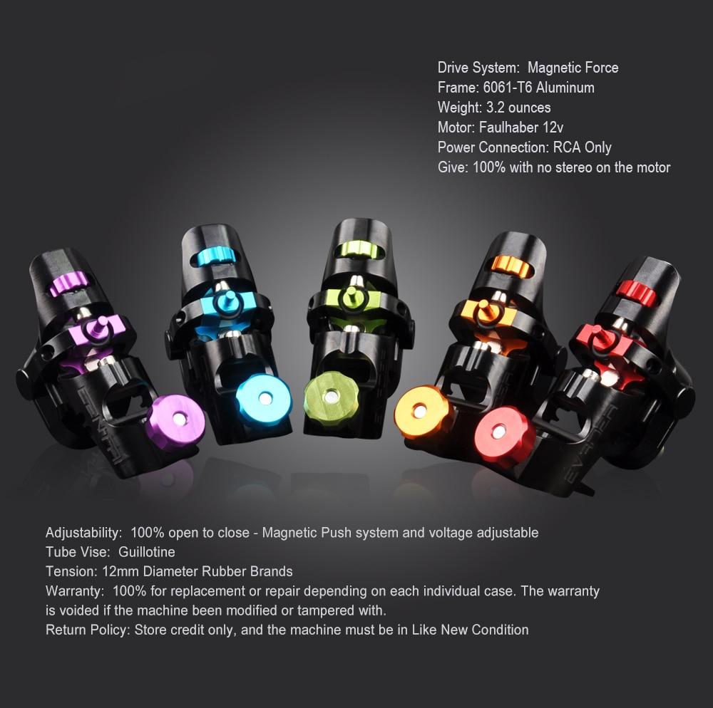 Spark rotativa máquina de tatuagem shader &