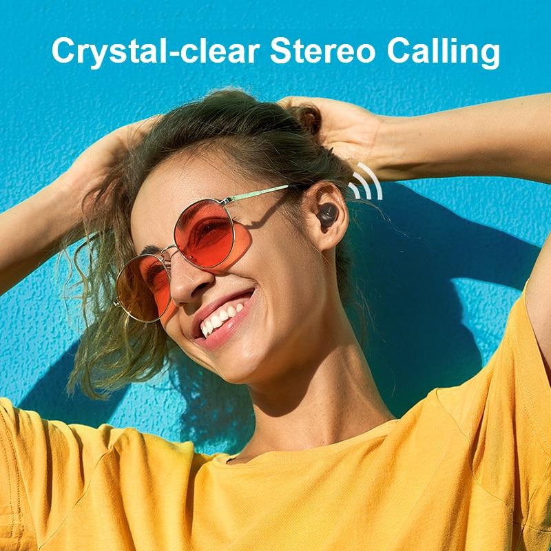 Căști fără fir QCY T1C bluetooth V5.0 căști fără fir căști - Audio și video portabile - Fotografie 5