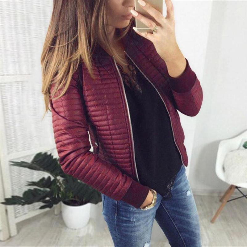 >Autumn Winter Women Warm Cardigan <font><b>Outfit</b></font> Solid <font><b>Color</b></font> Fashion Jacket Coat <font><b>Casual</b></font> Pocket Stand Collar Zipper Outwear Clothes