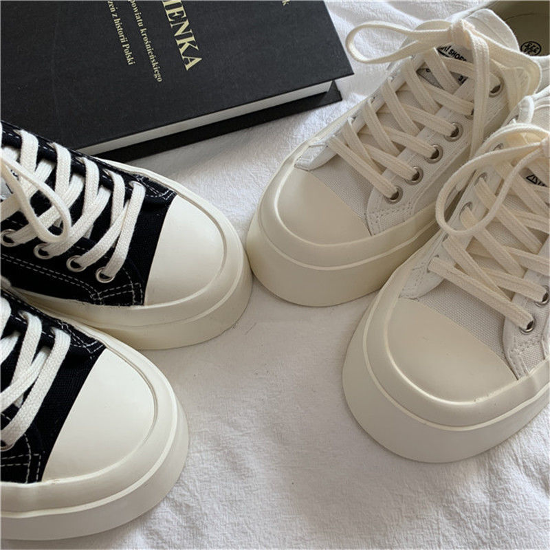 Sneakers Women's Sports Shoes Lolita Platform Vintage Casual Footwear Round Head Tennis Japanese Boots Female 2021