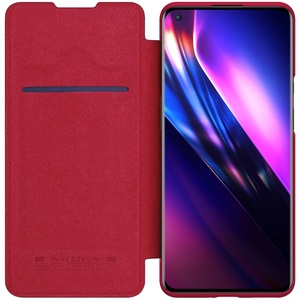 Image 5 - For OnePlus 9 Pro 9R Flip Case Nillkin Qin Leather Flip Cover Card Pocket Wallet Book Case For OnePlus9 One Plus 9 Pro Phone Bag