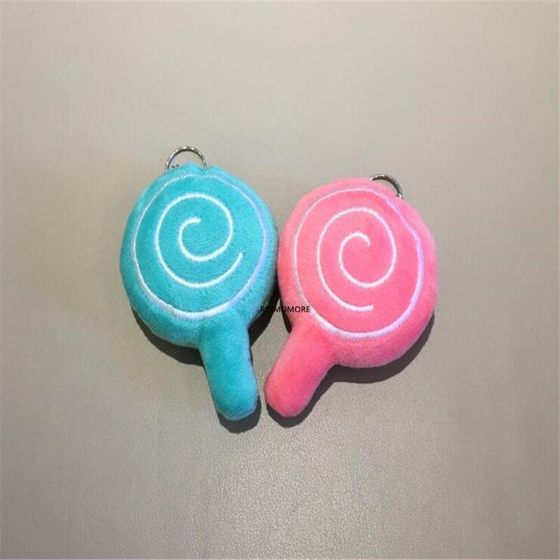 20pcs.lot Kawaii 10CM Racoon plush toy , Stuffed animal toy , gift Keychain Pendant plush TOY BAG ; kid's party gift plush toy