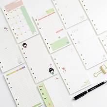 Minkys kawaii 45 листов А5 А6 бумага для ноутбука со свободными