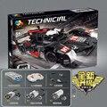 23011 Technic серия  1908 шт.  новый супер гоночный автомобиль R18  строительные блоки  Детские обучающие игрушки  подарки на Рождество