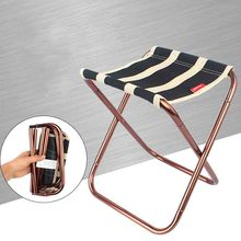 Chair-Stool-Seat Fishing-Chair Foldable Outdoor Aluminum Camping Ultra-302g