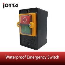 Açık/kapalı su geçirmez basmalı acil durum düğmesi MAX 10A 380V