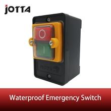על/OFF Waterproof חירום לדחוף כפתור מתג מקס 10A 380V