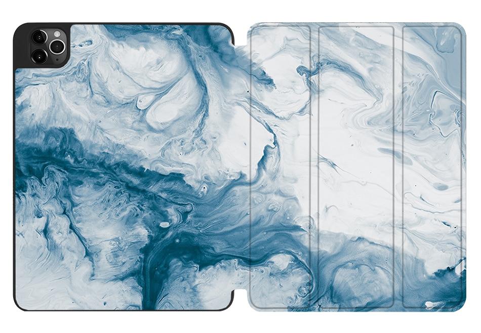 Smart Soft TPU+PU 2020 MTT 12.9 A2233 Flip iPad For Leather Case A2229 4th Tablet Gen Pro