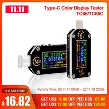 RD TC66/TC66C Typ C PD trigger USB C Voltmeter amperemeter spannung 2 weg current meter multimeter PD ladegerät batterie USB Tester