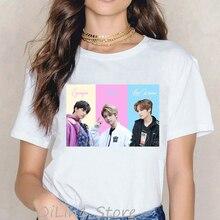 Kpop Stray Kids I am you Tshirt women vogue funny t shirts korean clothes streetwear female hip hop rock t-shirt tops tees