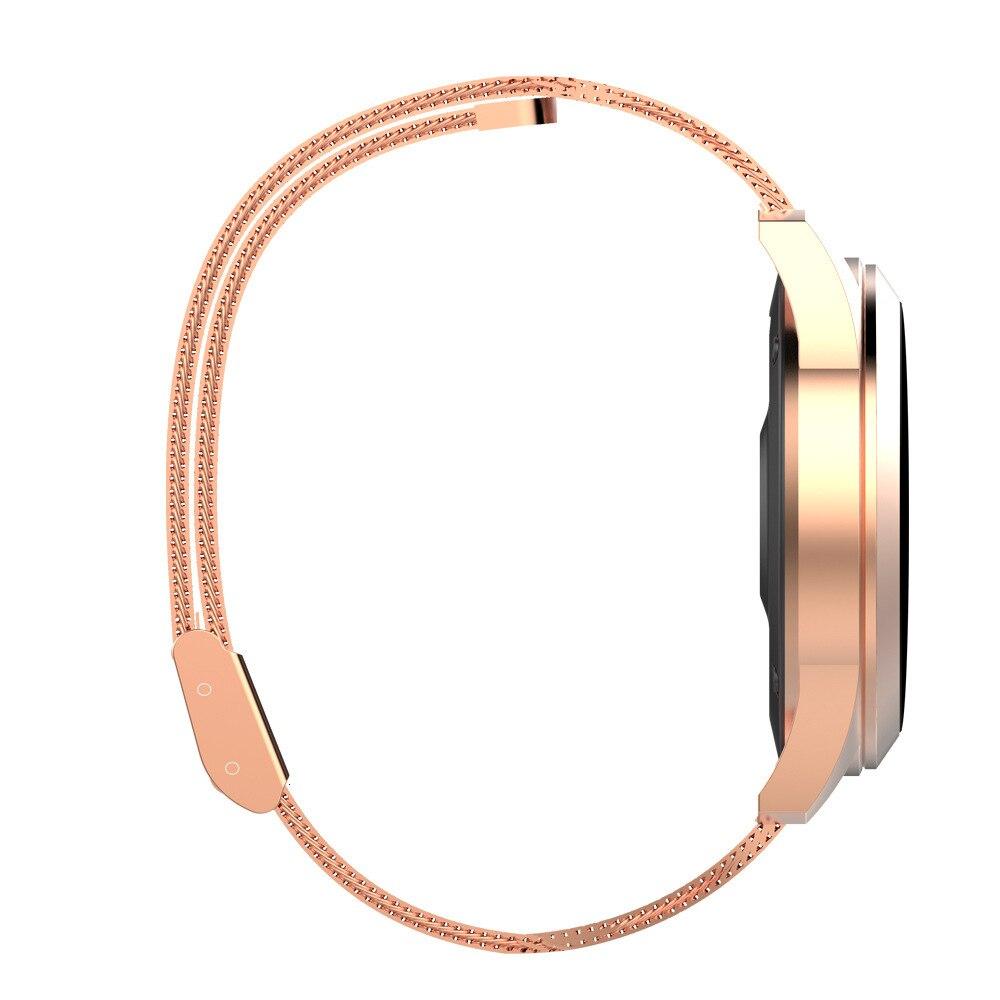 Водонепроницаемые Смарт часы для женщин Прекрасный браслет монитор сердечного ритма мониторинг сна Smartwatch подключение IOS Android Reloj Inteligent - 4
