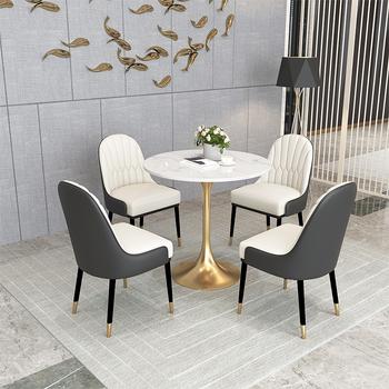 Nowoczesne meble do sypialni luksusowe krzesła do jadalni Nordic oparcie solidne drewniane krzesła do jadalni krzesła do jadalni drewniana toaletka do jadalni tanie i dobre opinie CN (pochodzenie) 800mm Jadalnia meble pokojowe 88-95CM Europa i ameryka Jadalnia krzesło Meble do domu Z litego drewna