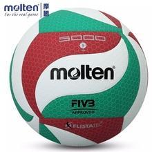 Волейбольный мяч расплавленного типа V5M 4500/5000, официальный размер, 5 мячей залпа с булавкой для профессионального матча и дрессировки гандбола