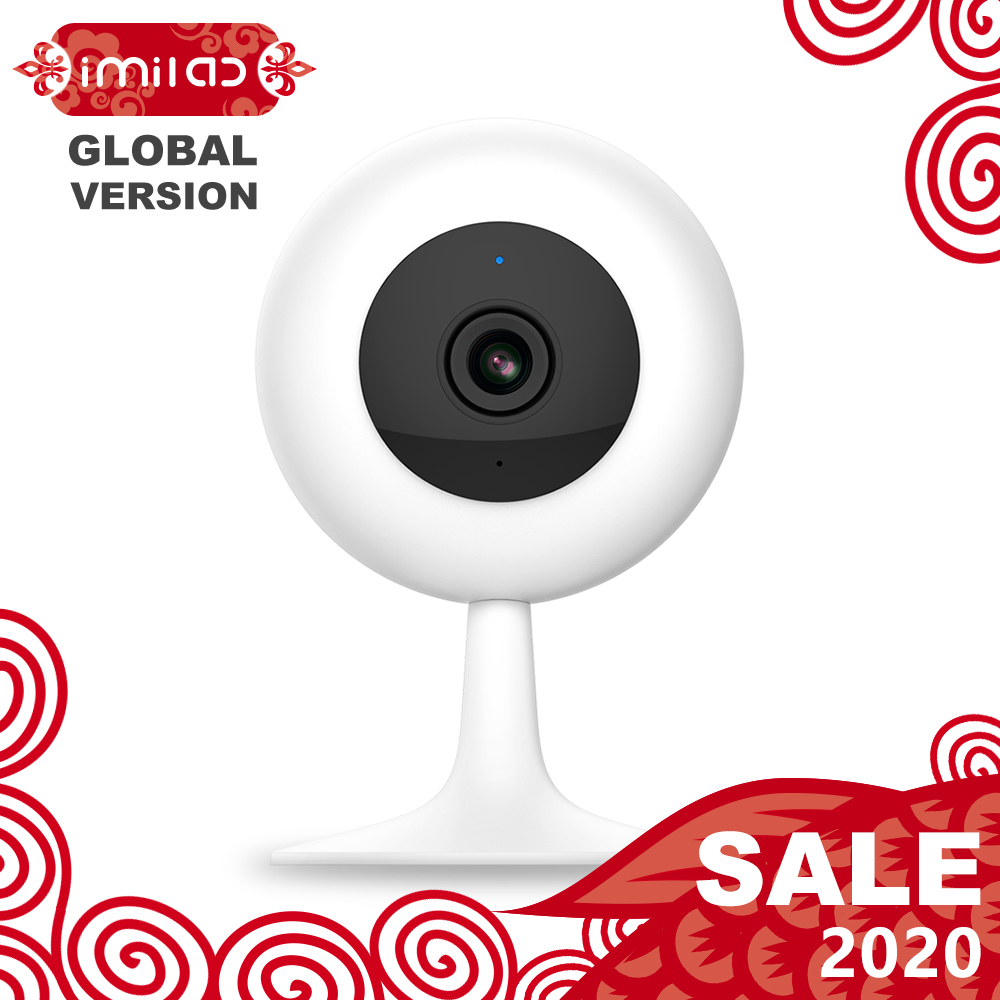 【Global Version】Mijia IMILAB IP Camera, Xiaomi Mi Home App Wifi Wireless CCTV Camera Infrared Night Vision Baby Monitor