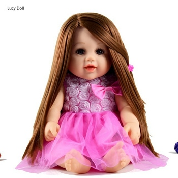 50CM Reborn Doll Baby Dolls Toys For Girls Sleeping Accompany Doll Beautiful Lower Price Birthday Christmas Present