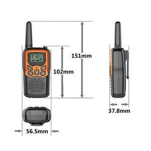Image 5 - 2pcs 휴대용 핸드 헬드 워키 토키 미니 양방향 라디오 트랜시버 야외 캠핑 시민 사용 인터폰