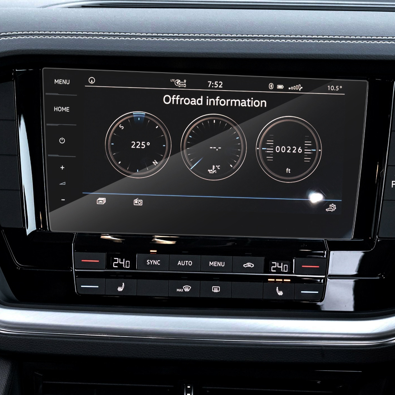 lowest price For Volkswagen T-ROC T ROC TROC 2017 2018 Car Gate Slot Pad Non-slip Cup Mat Anti Slip Door Groove Mat Interior Car Accessory