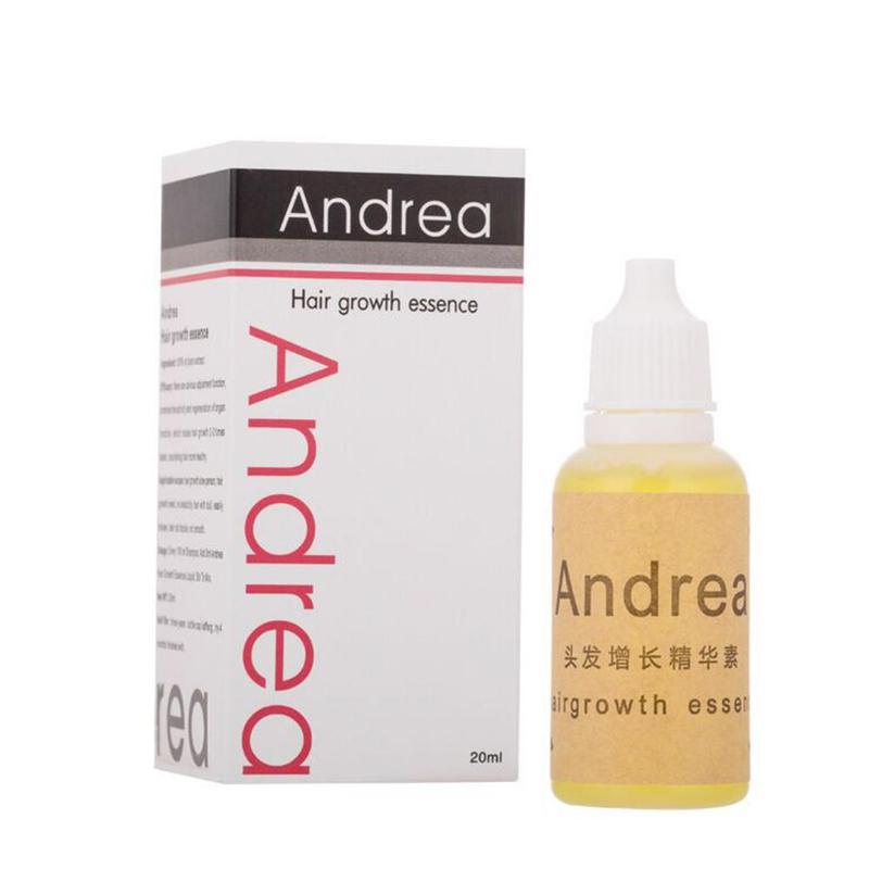 Andrea hair growth oil thickener suitable for hair growth serum hair loss products 100% natural plant serum 20ml