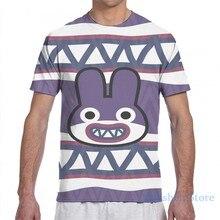 NABBIT ANIMAL CROSSING T-Shirt męski wydruk całościowy fashion girl t shirt boy topy koszulki z krótkim rękawem