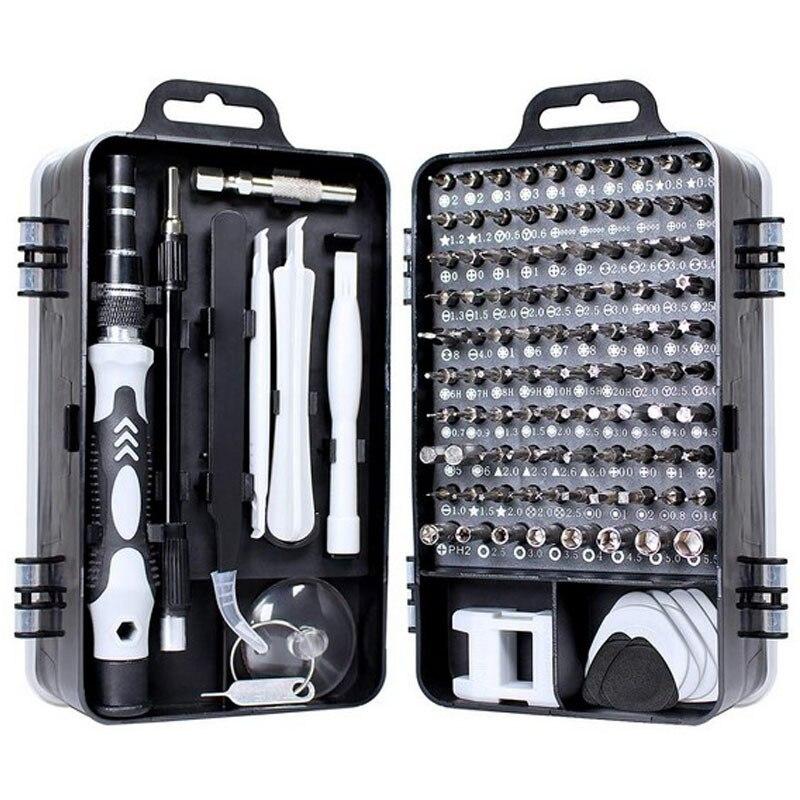 tool hexagon multi-function 1 in repair 115 phone set screwdriver Torx precision set equipment mobile manual bit screwdriver